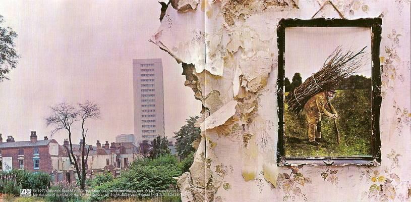 Led Zeppelin IV cover & back