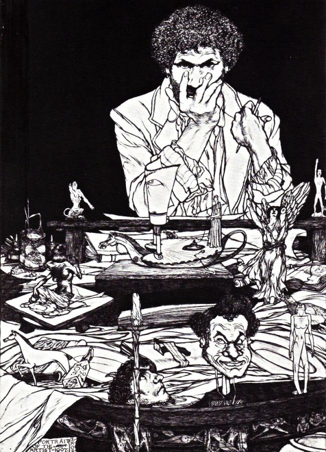 Austin Spare - Portrait of the Artist