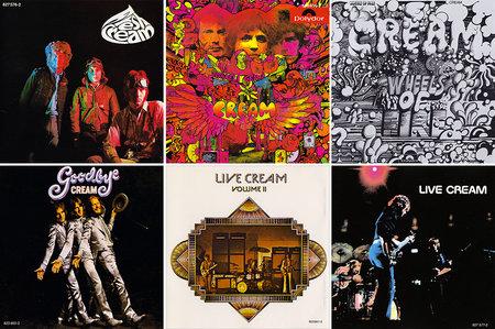 cream discographie