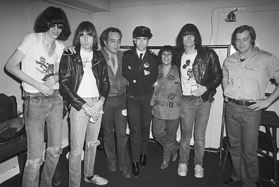 Stein with the ramones