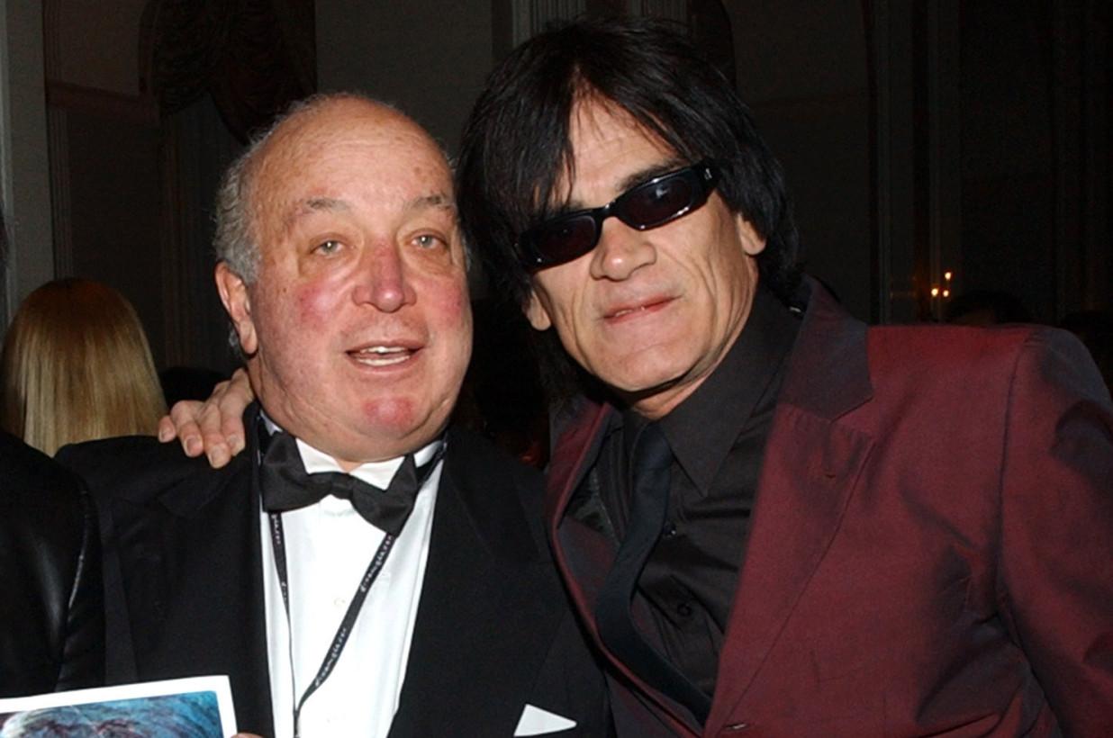 Seymour Stein & Dee Dee Ramone
