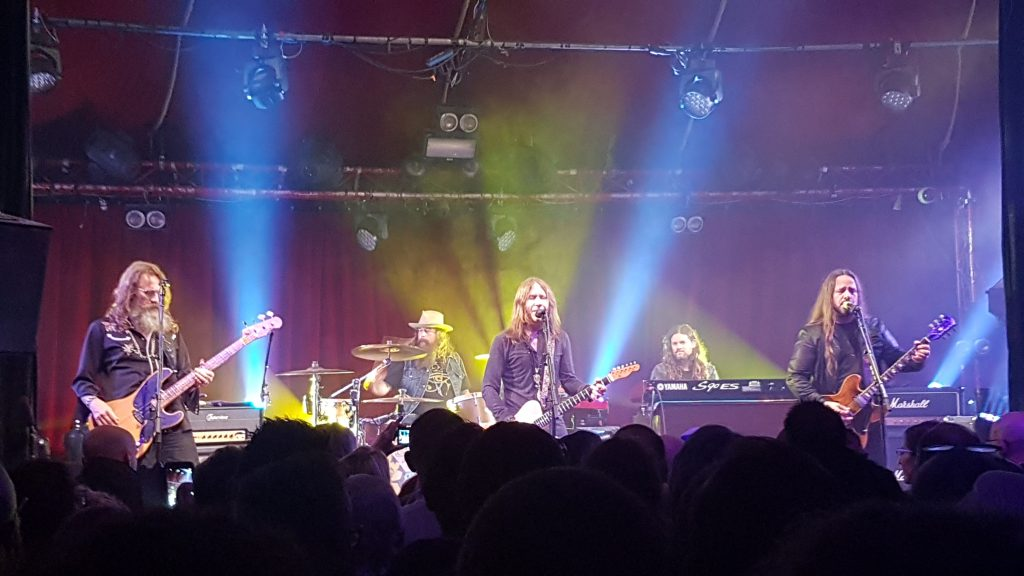 Blackberry Smoke Live Paris