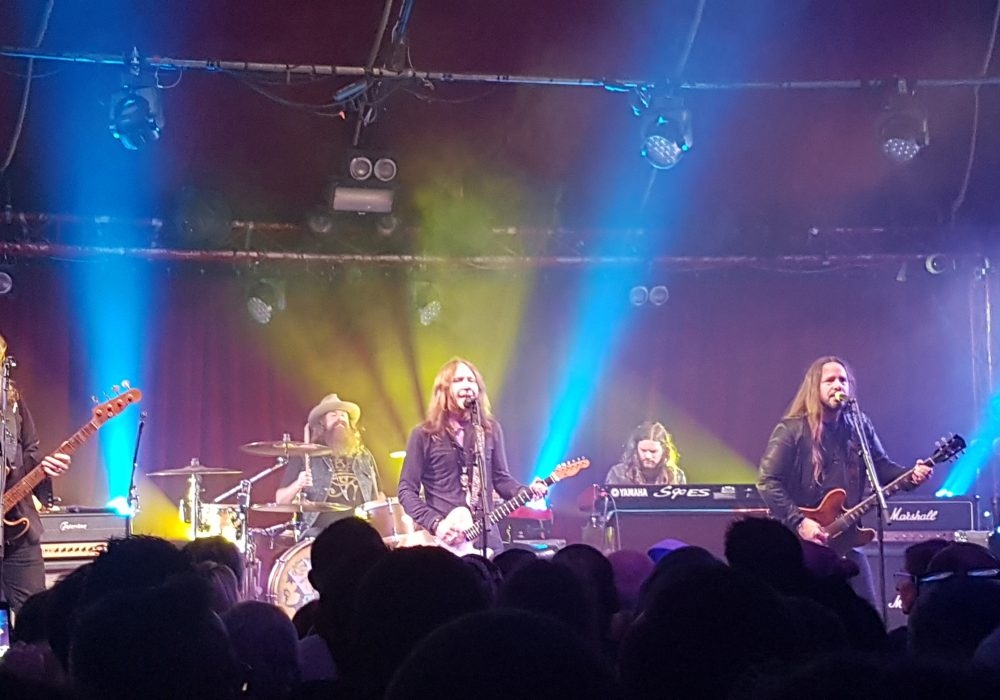 Blackberry Smoke in Paris