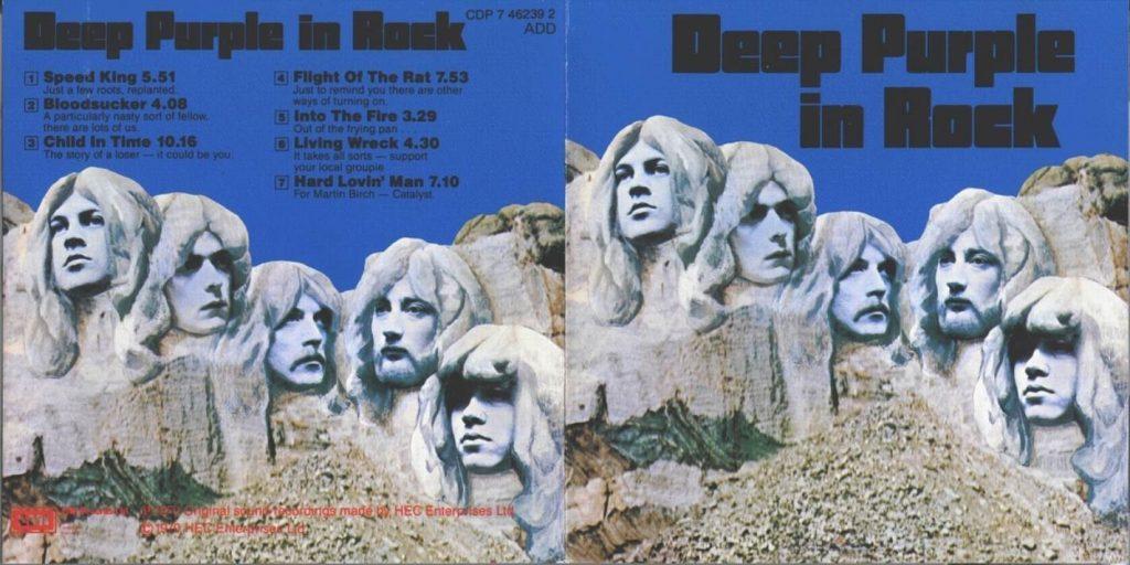 Deep Purple In Rock deplié