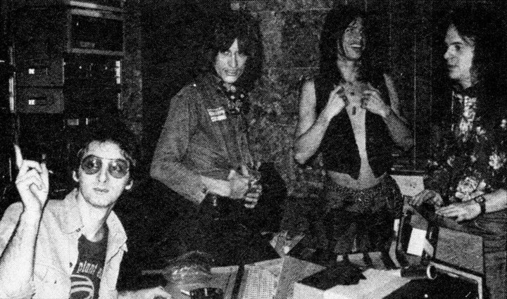 Jack Douglas et Aerosmith